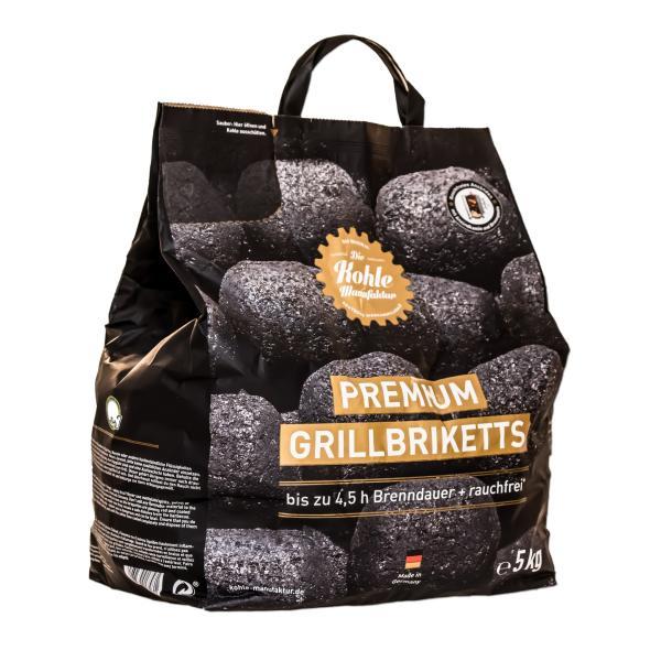 Die Kohle- Manufaktur- Premium Grill Briketts